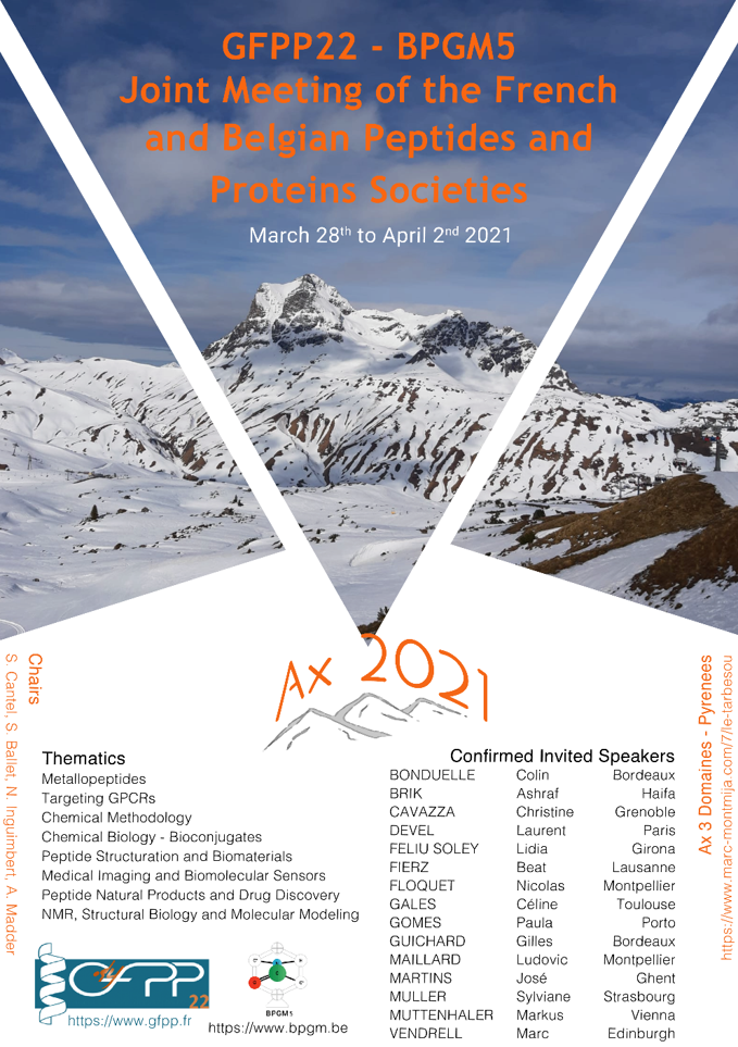 French Belgium Meeting about proteins and Peptides